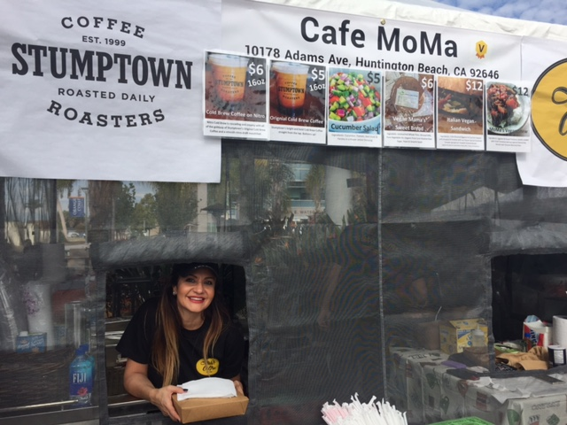 SoCal VegFest Cafe MoMa