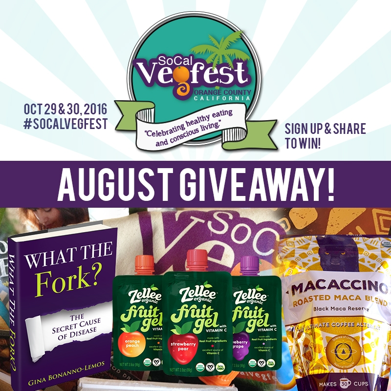 SoCal VegFest Giveaway