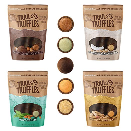 Vegan Gluten Free Trail Truffles Hiking Camping Food
