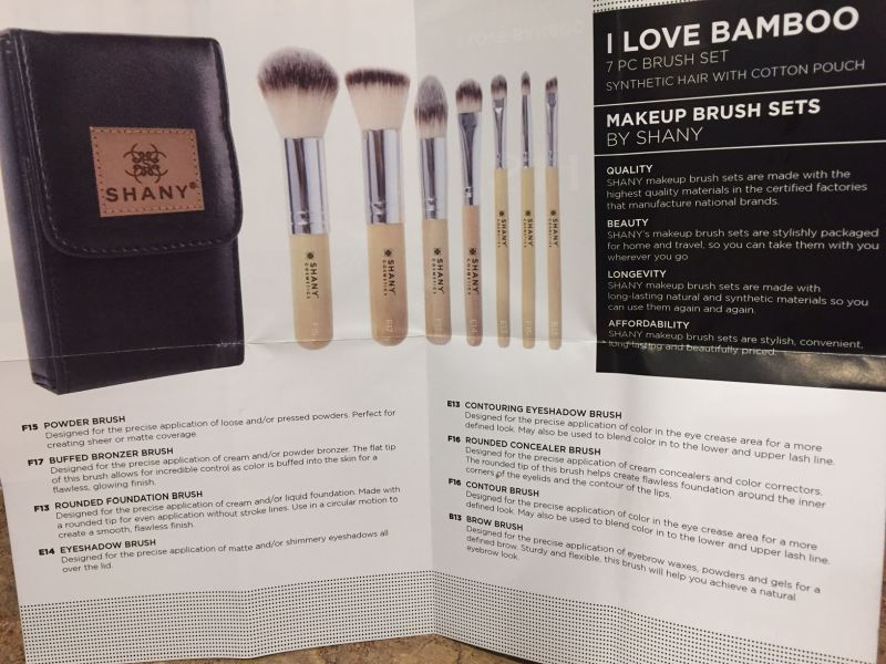 Vegan Travel Makeup Brushes